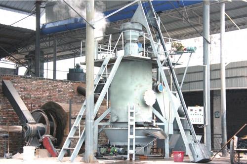天津双段式煤气发生炉